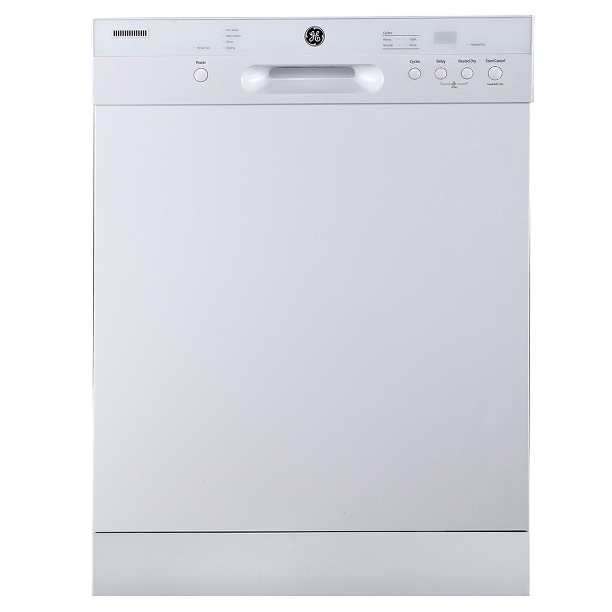 Lavaplatos General Electric GBF412SGMWWX color blanco